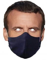 Präsident mit Mundschutz Pappmaske für Erwachsene