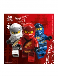 Lego™-Ninjago Servietten FSC® für Geburtstage bunt 20 Stück