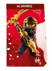 4 Ninjago™ Geschenktüten aus FSC® Papier Lego