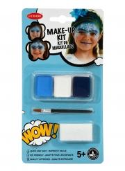 Eisprinzessin Make-up-Set für Mädchen 3-teilig bunt