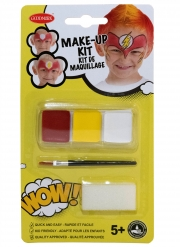 Superhelden Make-up-Set für Kinder 3-teilig bunt