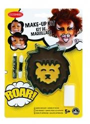 Löwen Make-up Set für Kinder 4-teilig bunt