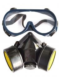 Gasmasken-Attrappe für Erwachsene