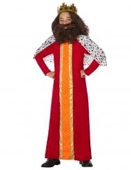 König-Kostüm Mittelalter für Jungen Karneval-Kostüm bunt