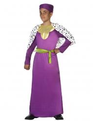 Zauberer Magier Scheich Kostüm für Kinder Lila