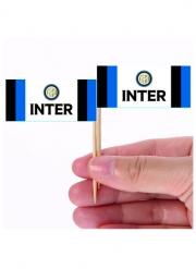 Inter Mailand™-Strohhalme für Fingerfood 24 Stück 6,5 x 5 cm