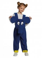 Die Sendung mit der Maus™ Elefanten-Kostüm für Kinder blau