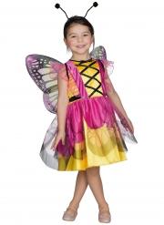 Entzückendes Schmetterlings-Kostüm für Mädchen bunt