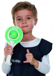 Verkehrskelle mit Geräuschen und Licht Spielzeug für Kinder