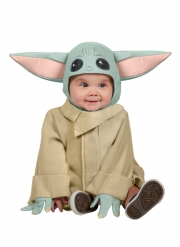 Baby Yoda™-Kostüm für Kleinkinder Star Wars™ Lizenz türkis-beigefarben
