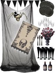 Halloween-Deko-Set Gothic Partyzubehör bunt