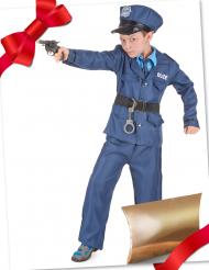 Polizei-Geschenke-Set Kinderkostüm für Fasching bunt