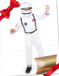Astronauten-Geschenk-Set für Kinder Kostüm-Set Weltall weiß-schwarz