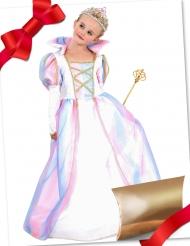 Prinzessinnen-Geschenk-Box für Mädchen Kostüm-Set rosa-weiss-gold