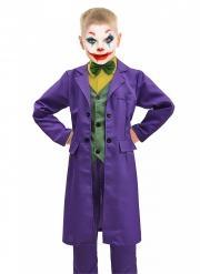 Lizenziertes Joker™-Kostüm für Jungen Superschurke violett-grün-gelb