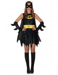 Superhelden Batgirl™-Kostüm für Damen schwarz-gelb