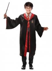 Offizielles Harry Potter™-Kostüm für Kinder Lizenz-Verkleidung schwarz-rot-gelb