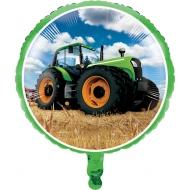 Traktor-Ballon Bauernhof Geburtstags-Geschenk bunt 81 cm