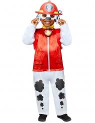 Marshall™-Kinderkostüm Paw Patrol™-Hundekostüm weiss-schwarz-rot