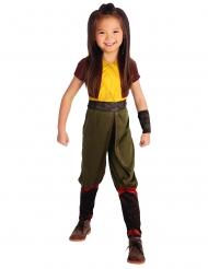 Raya™-Kostüm Raya und der letzte Drache Lizenzkostüm gelb-braun-grün