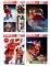 Coca Cola™-Fenster-Aufkleber Weihnachtsdeko bunt