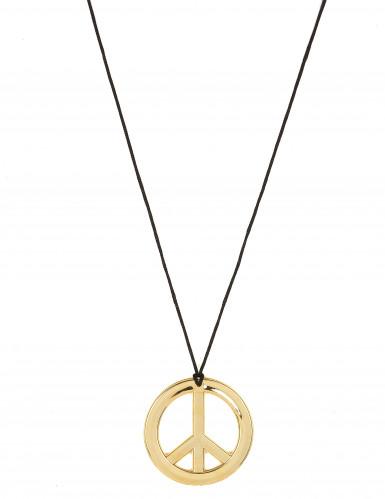hippie halskette metall f r erwachsene accessoires und g nstige faschingskost me vegaoo. Black Bedroom Furniture Sets. Home Design Ideas