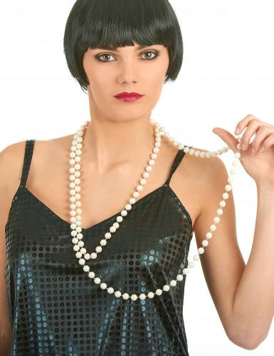 Lange Perlenkette für Damen -1