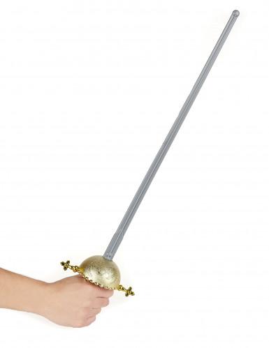 Rächer-Schwert mit rundem Griff-1