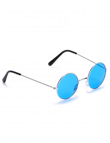 Hippiebrille rund für Erwachsene-1