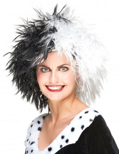Cruella-Perücke für Damen