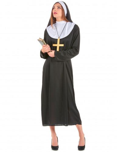 Nonnen-Kostüm für Damen