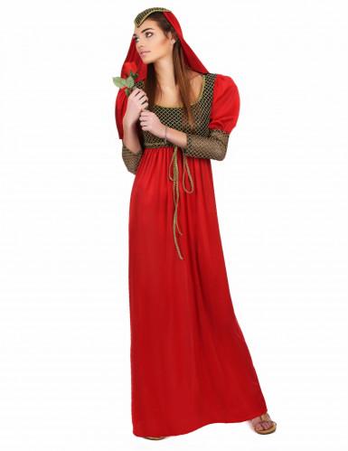 Mittelalterliches Prinzessinnenkostüm für Damen