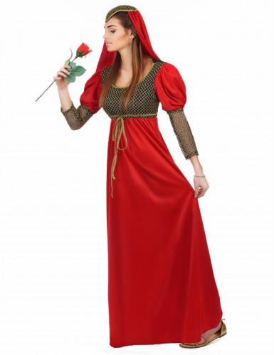 Mittelalterliches Prinzessinnenkostüm für Damen-1