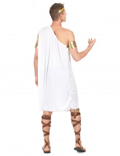 Römer-Politiker-Kostüm für Herren weiss-goldfarben-2