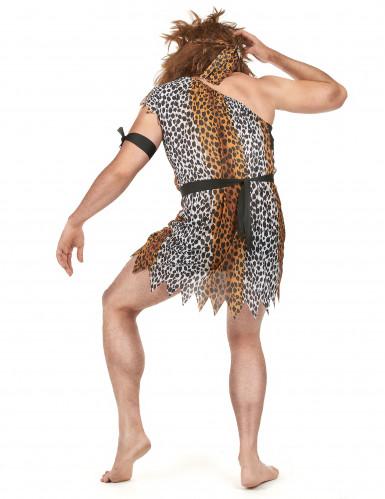 Höhlenmensch-Kostüm für Herren-2