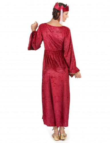 Mittelalter - Königin - Kostüm für Damen-2