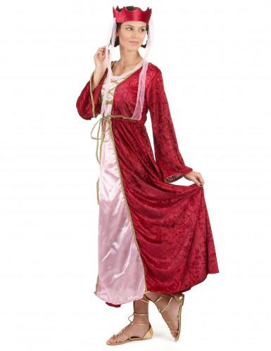 Mittelalter - Königin - Kostüm für Damen-1