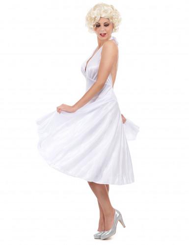 Marilyn Kostüm für Damen weiß-1