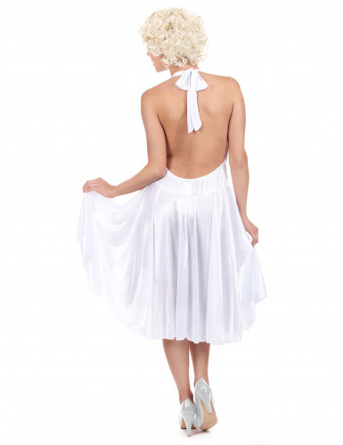 Marilyn Kostüm für Damen weiß-2