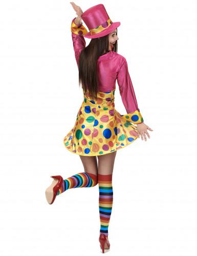 Clowns-Kostüm für Damen-2