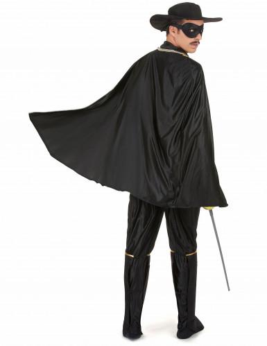 Rächer-Kostüm für Herren schwarz-2