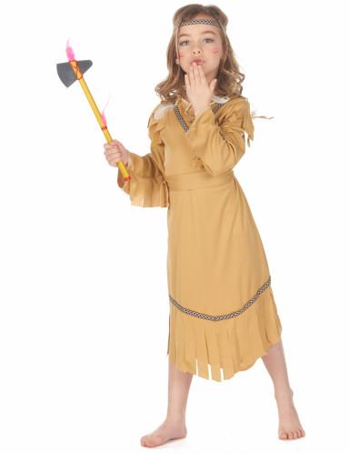 Indianerin-Mädchen-Kostüm bunt-1