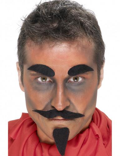 Teufel-Set für Erwachsene Halloween