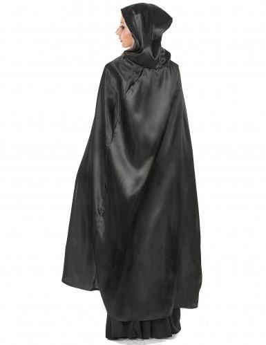 Vampirella-Umhang schwarz Halloween für Erwachsene-2