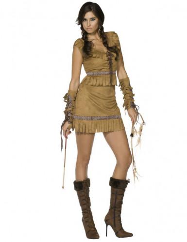 Sexy Indianerinnen-Kostüm für Damen