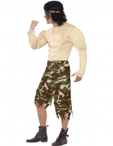 Super Muskelprotz-Soldaten-Kostüm für Herren-1