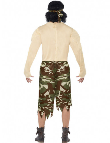 Super Muskelprotz-Soldaten-Kostüm für Herren-2