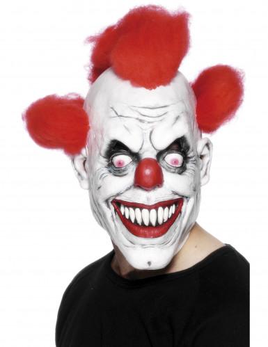 Furchterregende Clowns-Maske für Erwachsene Halloween