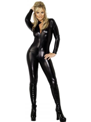 Sexy Domina-Kostüm für Damen