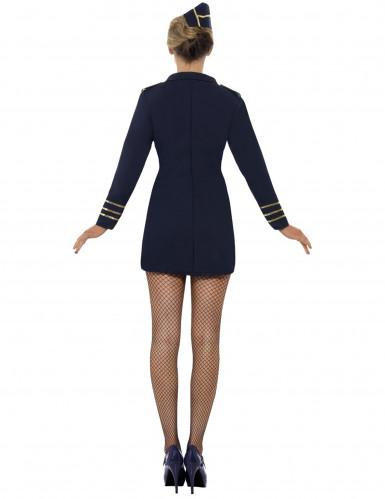 Sexy Stewardessen-Kostüm für Damen-1